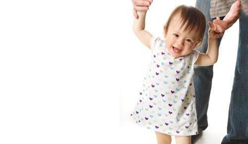Exercícios de estimulação para bebés de 11 meses
