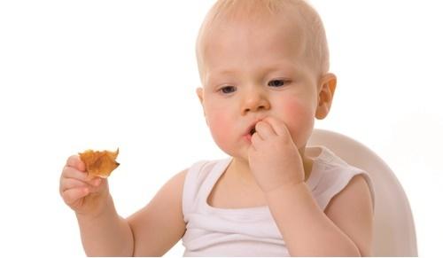 Quando é que um bebé pode comer bolachas?