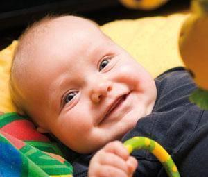 Do que se riem os bebés?