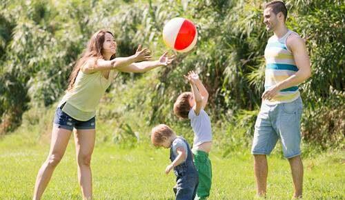 Jogos para pais e flihos