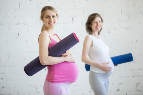 Em forma antes e depois da gravidez!