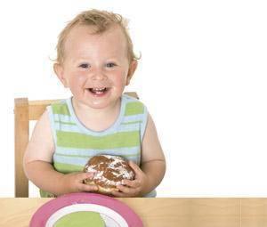secciones alimentacion infantil Nunca es demasiado pronto para aprender a comer bien.