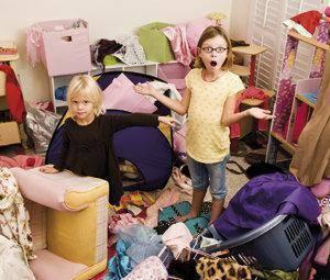 As crianças e a desorganização: ensinar o meu filho a ser arrumado
