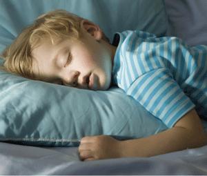 Dormir mal, um problema de muitas crianças!