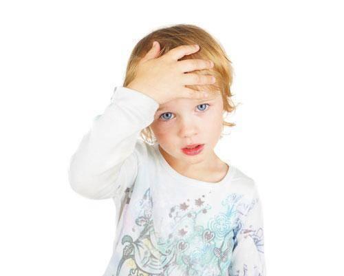 O que é bom para o vômito em crianças?