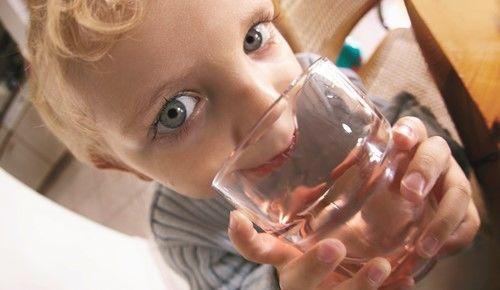 As crianças e a água