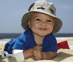 ¡Ir a la playa con un bebé por primera vez!