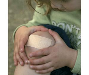 Cómo actuar en las heridas de los niños