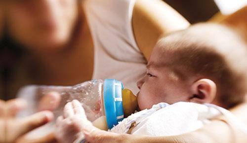 Meu bebé rejeita a leite de fórmula