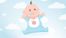 Porque é que o meu recém-nascido baba muita saliva?