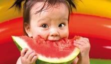Pode um bebé comer melancia?