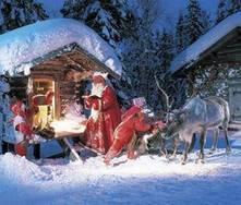 Rovaniemi, viajar até à cidade do Pai Natal