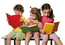 Ler é um hábito muito importante nas crianças!