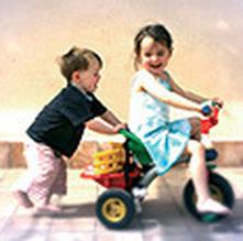 Exercício físico: maioria das crianças não pratica exercício.